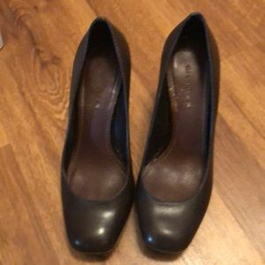 Brown Gianni Bini heels